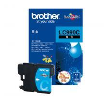 兄弟LC990C墨盒 青色 适用DCP-145C;...